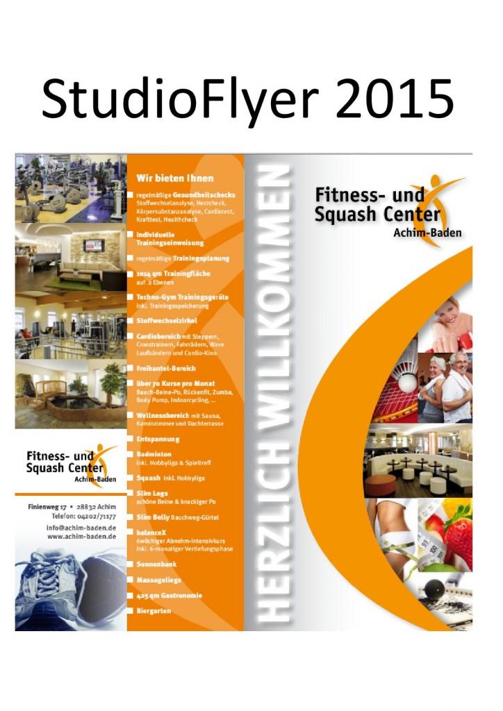 Studio-Flyer